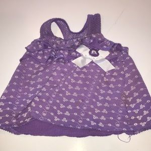 Purple baby camisole.